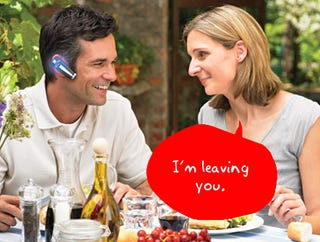 Illustration for article titled Question of the Day: Do You Use a Bluetooth Headset?