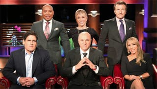 Illustration for article titled Shark Tank's Endlessly Weird But Always Entertaining Gender Obsession