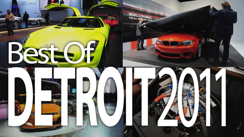 Illustration for article titled Detroit Auto Show: These are Tomorrow's Cars Today