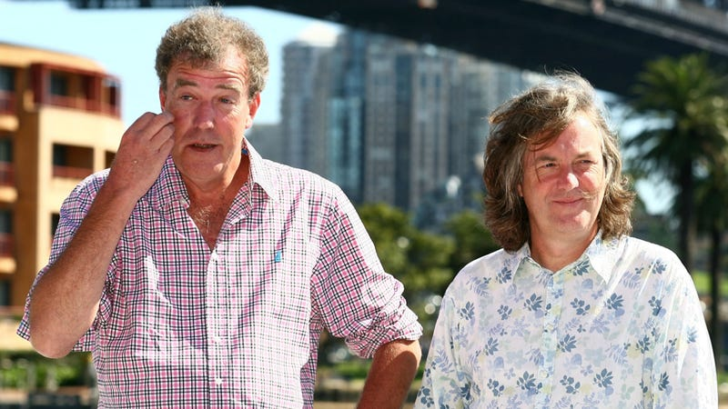 Illustration for article titled Jeremy Clarkson Will Host Top Gear For At Least Three More Years With Hammond And May