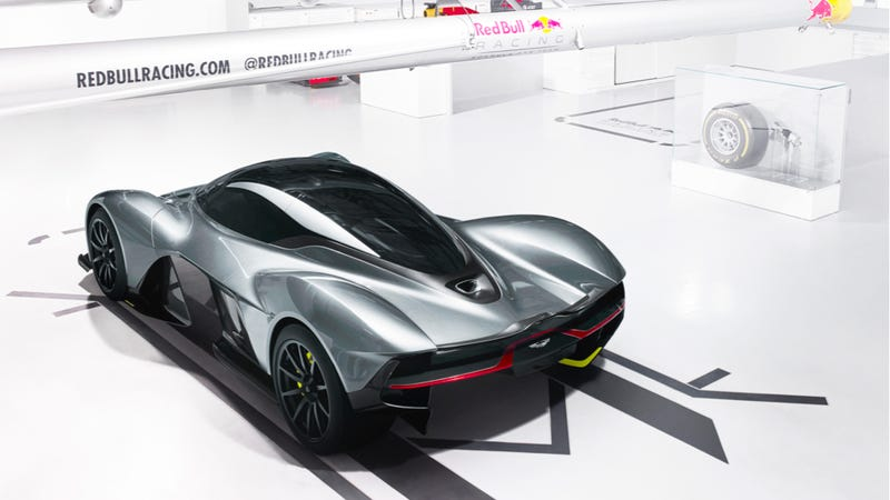 Illustration for article titled At Least 300 Poor Sad Rich People Won't Get An Aston Martin AM-RB 001