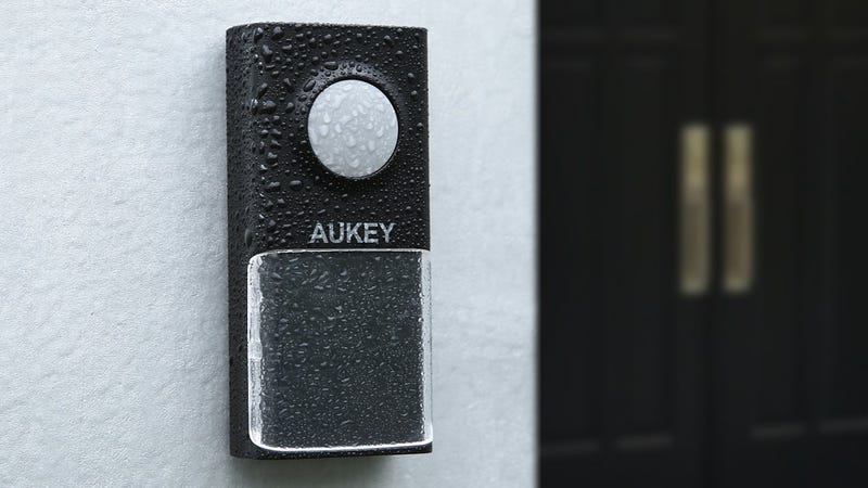 Aukey Wireless Doorbell with Two Receivers, $12 with code AUKEYWD1