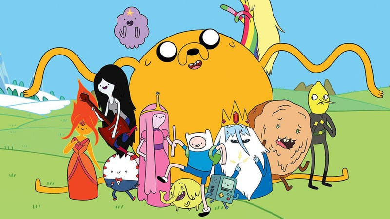 Illustration for article titled Finished binge watching Adventure Time