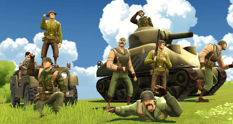 Illustration for article titled Oh Hey, Battlefield Heroes Is Coming Back