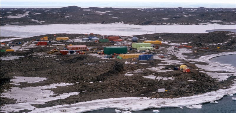 Australia's Davis research station in Antarctica.