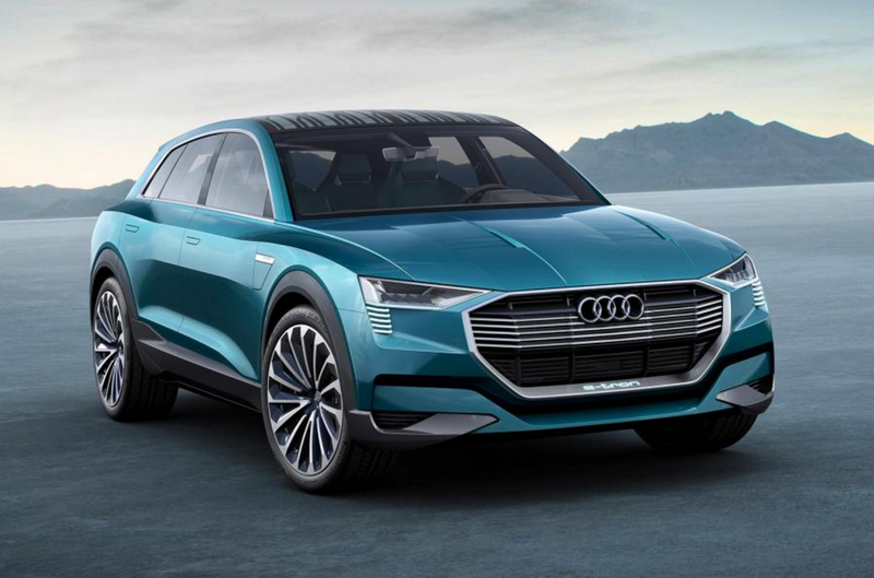 Illustration for article titled Audi Could Show Off A Hydrogen Fuel Cell SUV Concept Soon