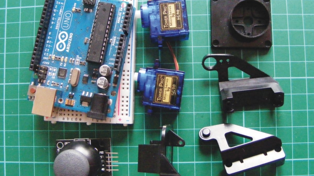 How To Make A Joystick Controlled Laser With An Arduino Kit K Compatible Microcontroller Atmega328p Breadboard Us Ebay