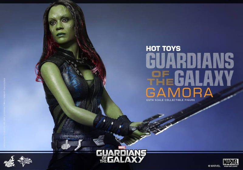 Illustration for article titled Lifelike Guardians Of The Galaxy Gamora Action Figure