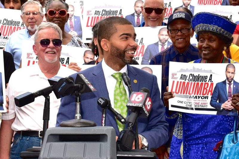 Chokwe Antar Lumumba (Lumumba for Mayor)