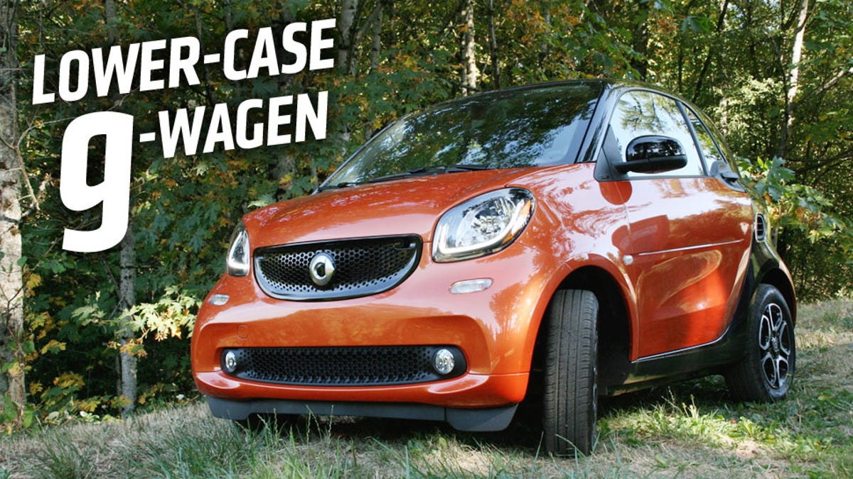 The 2016 Smart ForTwo Isn't Allowed To Be As Fun As It Could Be