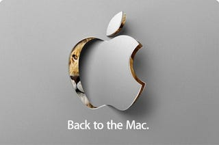 "Illustration for article titled Apple ""Back to the Mac"" Event Oct. 20: New OS X and MacBook Air?"