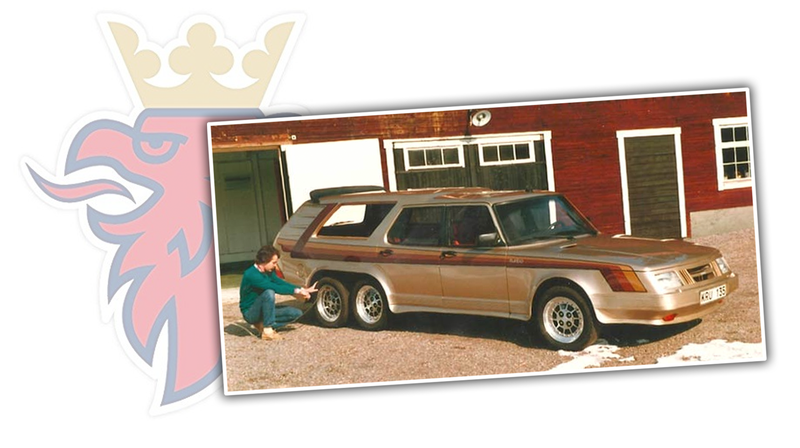Illustration for article titled You Should Know About The Biggest (Best?) Saab Ever, It Had Six Wheels