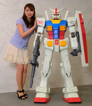 Illustration for article titled Add a 5-foot-tall Gundam to your living room for only $3,800
