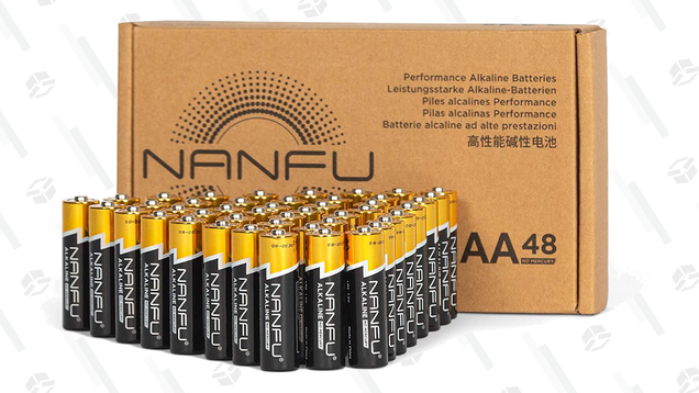 Get a 48-Pack of AAA Batteries for Just $12, or AA Batteries for $13