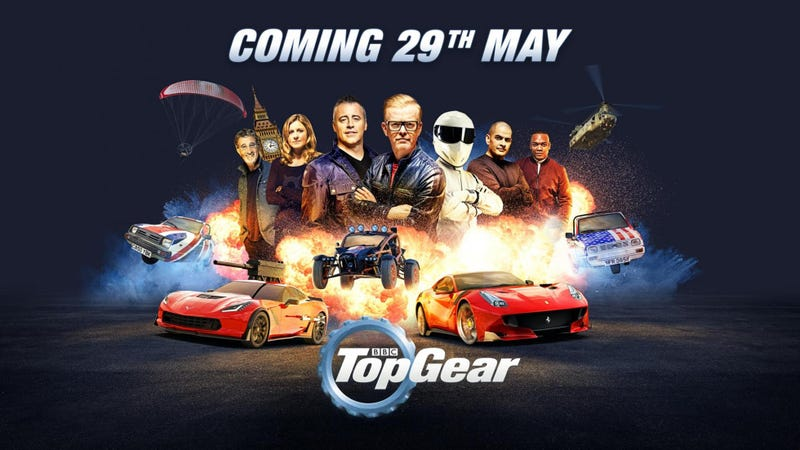 Illustration for article titled The First Episode Of New Top GearSounds Extremely Top Gear-y