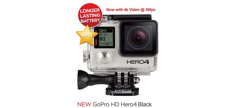 Illustration for article titled La próxima GoPro podría venir con vídeo en 4K 30fps y pantalla táctil