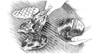 Illustration for article titled Use a Lettuce Leaf as a Makeshift Basting Brush
