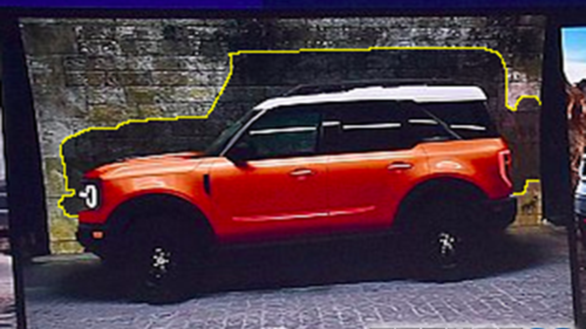 Leaked 2020 ford baby bronco photos tease what the big bronco will