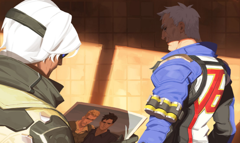 The Internet Reacts To Soldier 76 And His Ex-Boyfriend