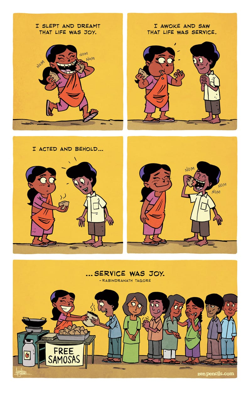 Illustration for article titled Zen Pencils: Check out this inspiring comic
