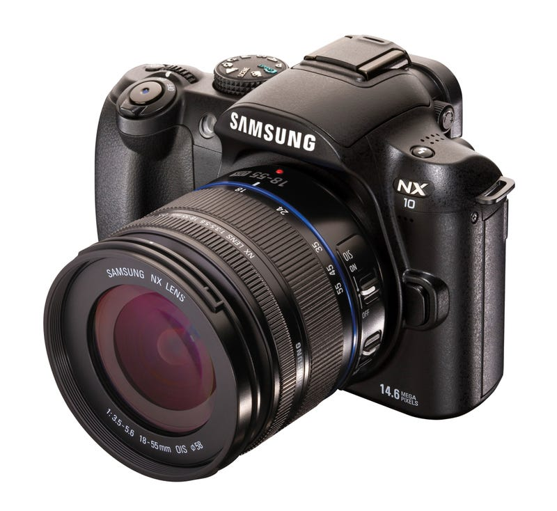 Illustration for article titled Samsung NX10 Gets Real, New NX Series Camera Format and All
