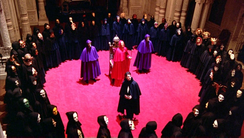 Artist's rendering of what Further Future must be like, because we weren't invited. Image: Eyes Wide Shut