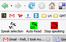 Illustration for article titled Download of the Day: Click, Speak (Firefox)