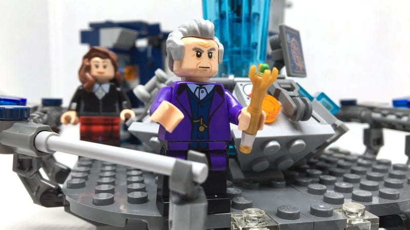Illustration for article titled The Doctor Who LEGO Set: What Took You So Long, Old Man?