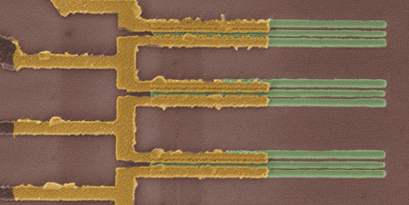 Illustration for article titled IBM Is Shrinking Transistors With Rows of Tiny Carbon Nanotubes