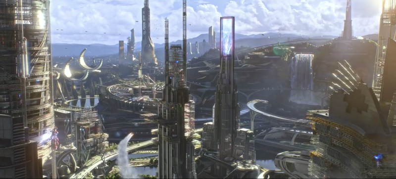 Illustration for article titled Does Anyone Have Any Idea What Is Happening In The Tomorrowland Trailer?