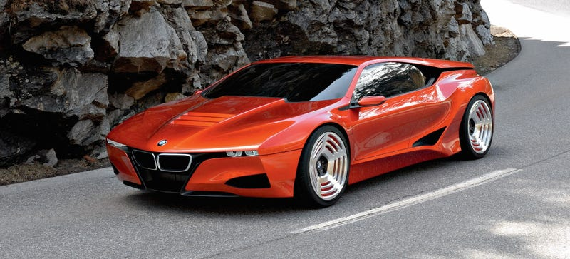 Illustration for article titled You Guys Know The BMW M1 Hommage Concept Is The BMW i8, Right?