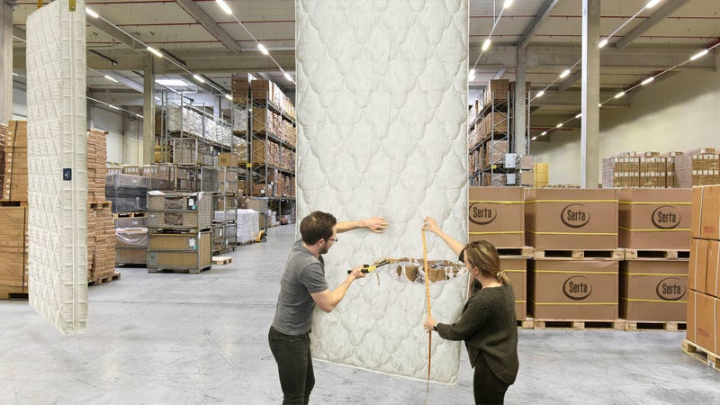 Illustration for article titled Serta Wholesaler Lets Customers Cut Their Own Length Of Mattress