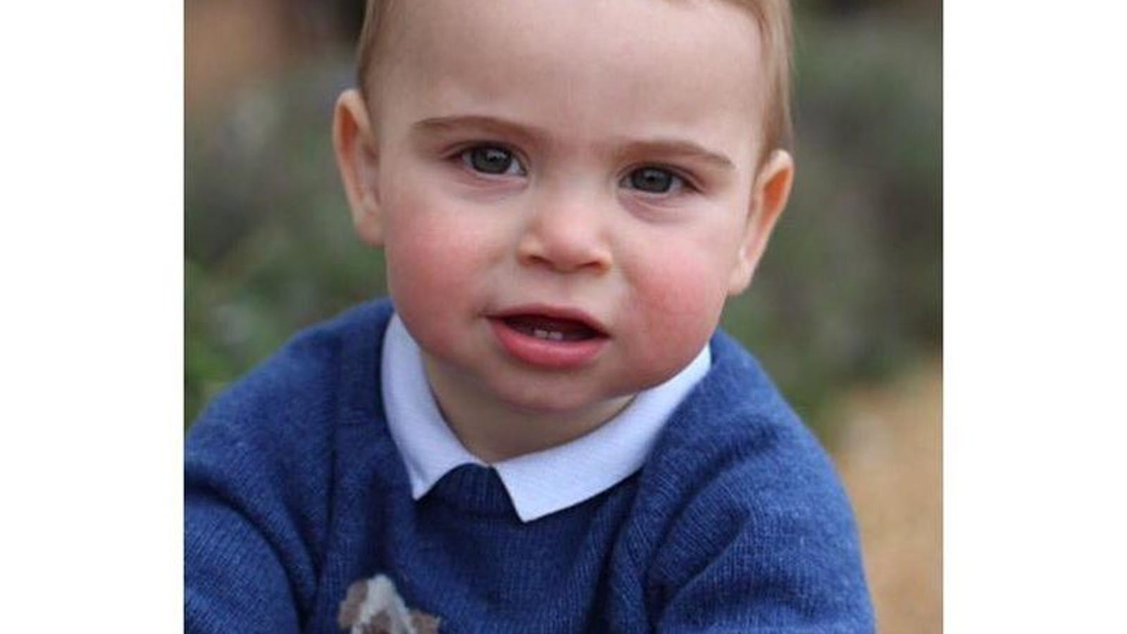 Enjoy These Photos of Young Prince Louis and His Sweaters