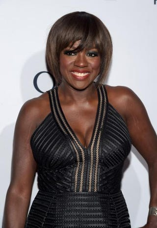 Actress Viola Davis attends Elle's 6th Annual Women in Television Dinner at Sunset Tower on Jan. 20, 2016, in West Hollywood, Calif.Jason Kempin/Getty Images
