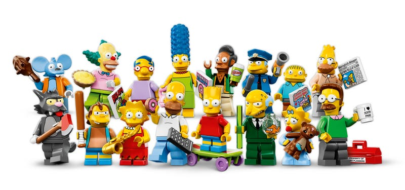 Illustration for article titled An Army Of LEGO Simpsons Invades America In May
