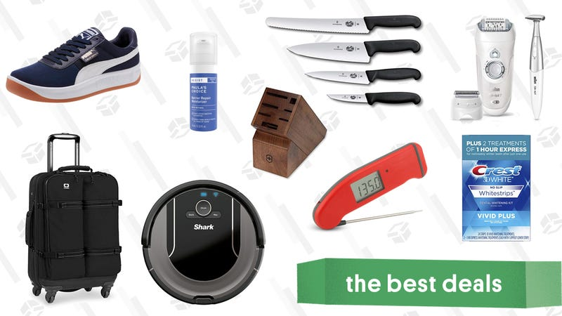 Illustration for article titled Thursday's Best Deals: Shark Vacuums, Grooming Essentials, PUMA, and More
