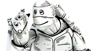 Illustration for article titled The OriginalTeenage Mutant Ninja TurtlesDesign Comes To Life As A Toy