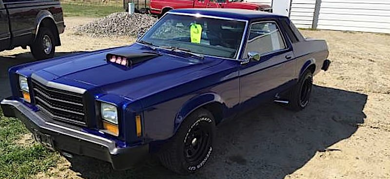 For 2 600 This 1978 Ford Granada Hot Rod Is Probably Death Proof