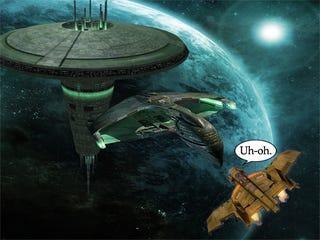 Illustration for article titled Warhawk in Spaaaaaace