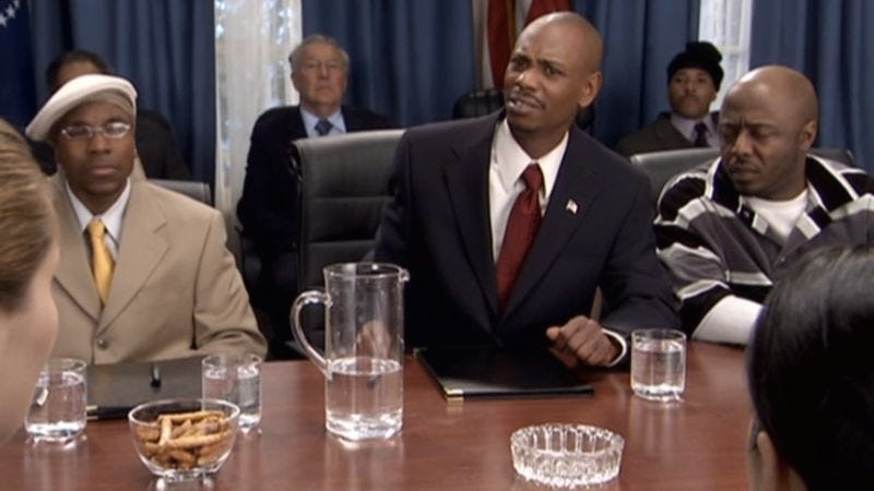 Spend The Remainder Of The Day Watching Chappelles Show Sketches