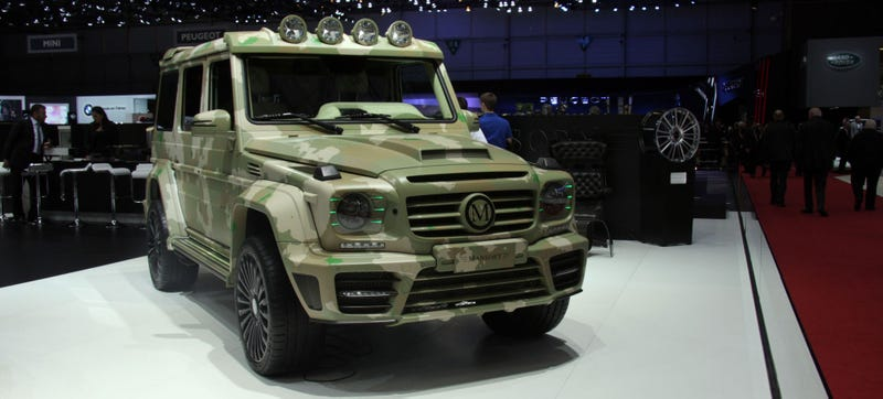 Illustration for article titled Fuck It, The Mansory Sahara Edition G Wagen Is Awesome
