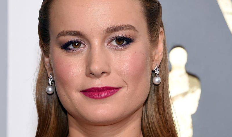 Brie Larson at this year's Oscars, where she took home Best Actress. Image Ethan Miller/Getty Images