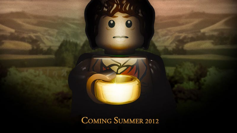 Illustration for article titled There Will be Official LEGO Lord of the Rings