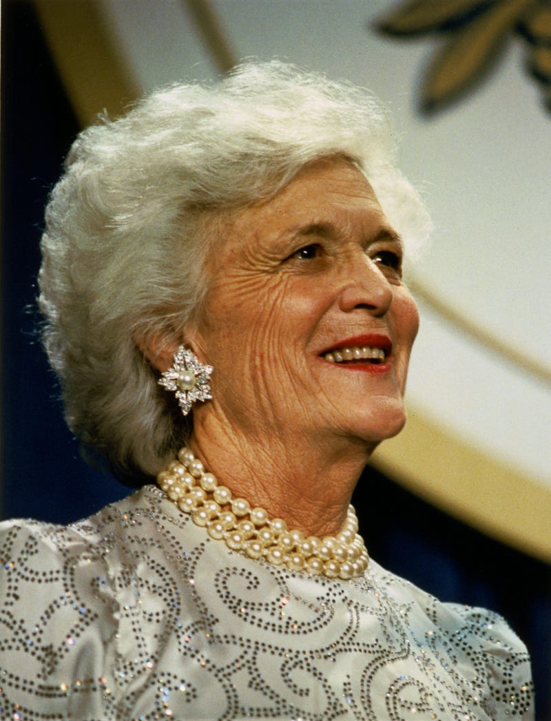Illustration for article titled BREAKING: Barbara Bush, 92, Has Died