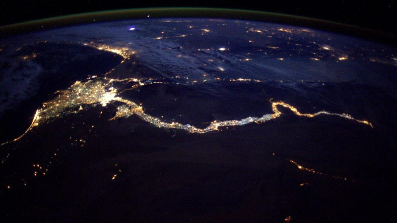 From space the nile looks like a cosmic king cobra made for Outer space design australia