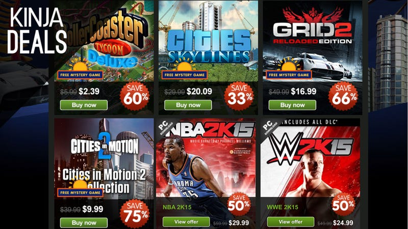 Illustration for article titled Green Man Gaming's Summer Sale Features Simulations, Sports, and More