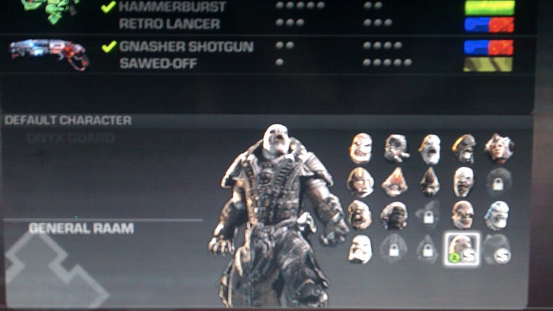 Illustration for article titled Get a Sneak Peek at Gears of War 3's New Multiplayer Characters