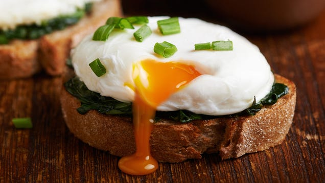 Strain Your Eggs Before Poaching or Frying