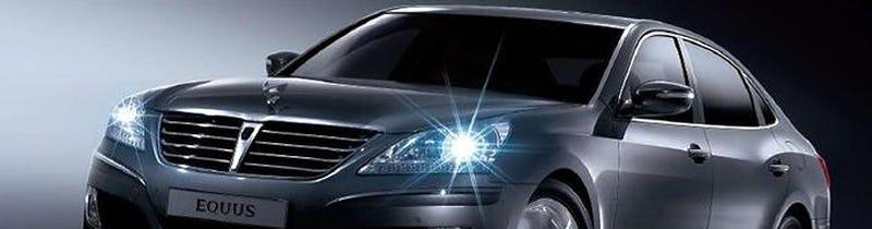 Illustration for article titled 2010 Hyundai Equus: Lexus-Like Styling, Cadillac-Like Size