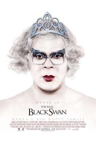 Illustration for article titled Tyler Perry Claims Madea Is The Real Black Swan